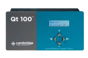 Qt 100 – Control Module for Sound Masking System