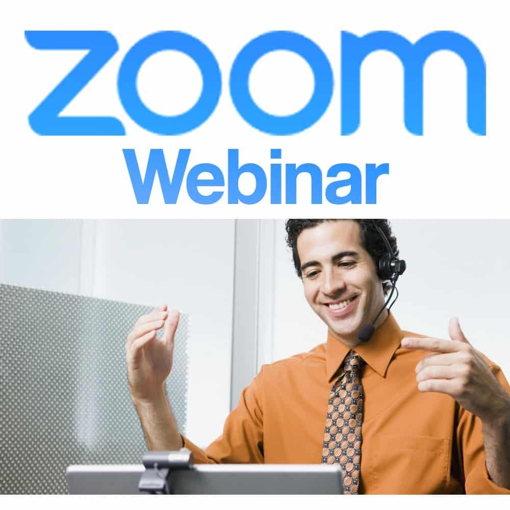 Naotech Zoom Webinars |