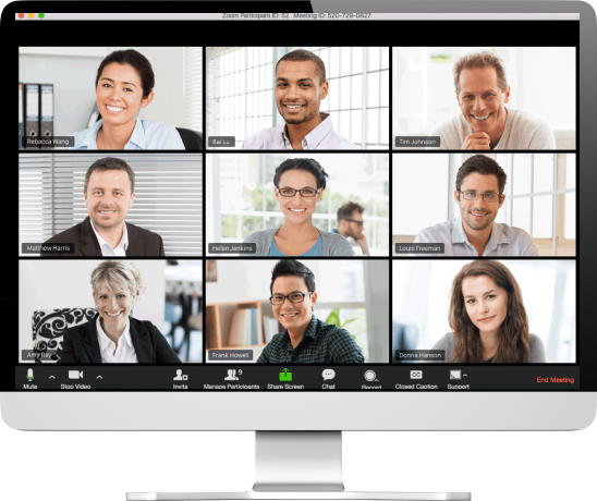 Video conferencing using Zoom platform